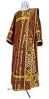 Deacon vestments - metallic brocade BG5 (claret-gold)