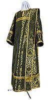 Deacon vestments - metallic brocade BG6 (black-gold)