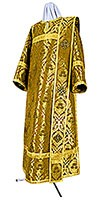Deacon vestments - metallic brocade BG5 (yellow-claret-gold)