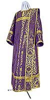 Deacon vestments - metallic brocade BG5 (violet-gold)