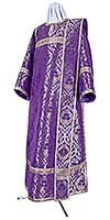 Deacon vestments - metallic brocade BG6 (violet-silver)