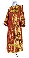 Deacon vestments - metallic brocade BG5 (red-gold)