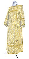 Deacon vestments - metallic brocade BG5 (white-gold)