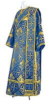 Deacon vestments - rayon brocade S2 (blue-gold)