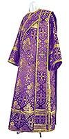 Deacon vestments - rayon brocade S2 (violet-gold)