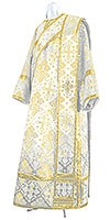 Deacon vestments - rayon brocade S2 (white-gold)