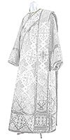 Deacon vestments - rayon brocade S2 (white-silver)