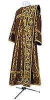 Deacon vestments - rayon brocade S3 (black-gold)