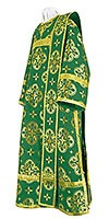 Deacon vestments - rayon brocade S3 (green-gold)