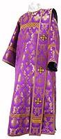 Deacon vestments - rayon brocade S3 (violet-gold)