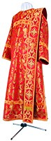 Deacon vestments - rayon brocade S3 (red-gold)