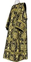 Deacon vestments - rayon brocade S4 (black-gold)