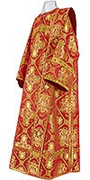 Deacon vestments - rayon brocade S4 (red-gold)