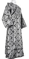 Deacon vestments - rayon brocade S4 (black-silver)