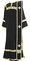 Deacon vestments - natural German velvet (black-gold)