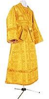Subdeacon vestments - metallic brocade B (yellow-gold)