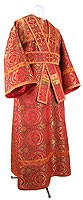 Subdeacon vestments - metallic brocade B (red-gold)
