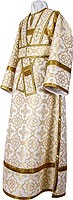 Subdeacon vestments - metallic brocade B (white-gold)