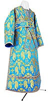 Subdeacon vestments - metallic brocade BG1 (blue-gold)