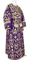 Subdeacon vestments - metallic brocade BG1 (violet-gold)
