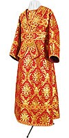 Subdeacon vestments - metallic brocade BG1 (red-gold)