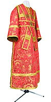 Subdeacon vestments - metallic brocade BG2 (red-gold)