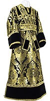 Subdeacon vestments - metallic brocade BG3 (black-gold)