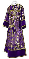 Subdeacon vestments - metallic brocade BG3 (violet-gold)