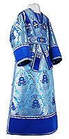 Subdeacon vestments - metallic brocade BG4 (blue-silver)