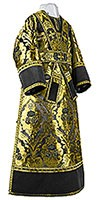 Subdeacon vestments - metallic brocade BG4 (black-gold)
