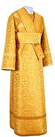 Subdeacon vestments - rayon brocade S2 (yellow-gold)