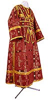 Subdeacon vestments - rayon brocade S3 (claret-gold)