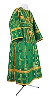 Subdeacon vestments - rayon brocade S3 (green-gold)