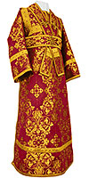 Subdeacon vestments - rayon brocade S4 (claret-gold)