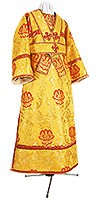 Subdeacon vestments - rayon brocade S4 (black-gold) (CLONE)