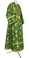 Subdeacon vestments - rayon brocade S4 (green-gold)