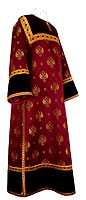 Clergy stikharion - metallic brocade B (claret-gold)