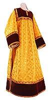 Clergy stikharion - metallic brocade B (yellow-gold)