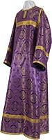 Clergy stikharion - metallic brocade B (violet-gold)