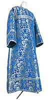 Clergy stikharion - metallic brocade BG1 (blue-silver)