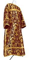 Clergy stikharion - metallic brocade BG1 (claret-gold)