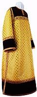 Clergy stikharion - metallic brocade BG1 (yellow-gold)