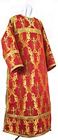 Clergy stikharion - metallic brocade BG1 (red-gold)