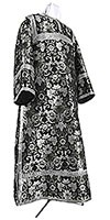 Clergy stikharion - metallic brocade BG1 (black-silver)
