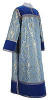 Clergy stikharion - metallic brocade BG5 (blue-gold)