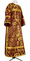 Clergy stikharion - metallic brocade BG6 (claret-gold)