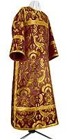 Clergy stikharion - metallic brocade BG3 (claret-gold)