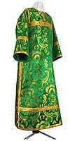 Clergy stikharion - metallic brocade BG6 (green-gold)