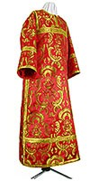 Clergy stikharion - metallic brocade BG4 (red-gold)