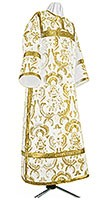 Clergy stikharion - metallic brocade BG3 (white-gold)